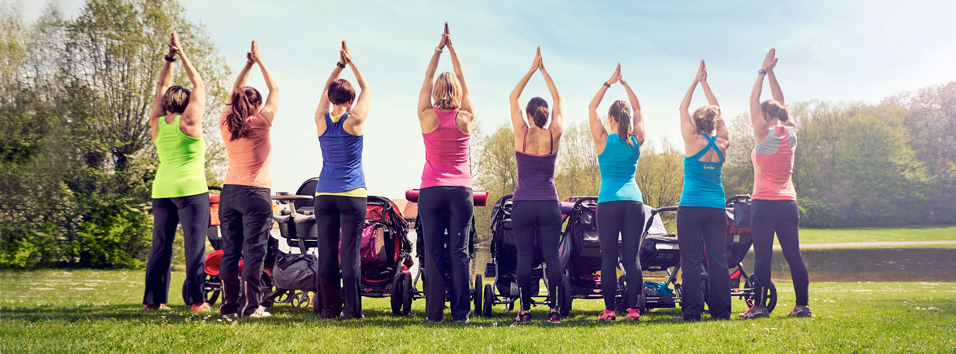 buggy brigade, post natal fitness, mum and baby exercise, personal training, st albans, verulamium park, outside
