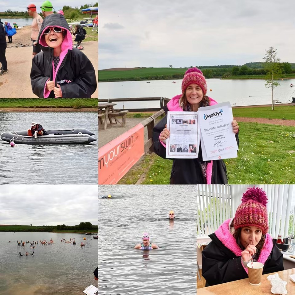Saleema's race report – Qualifying for a Channel swim team
